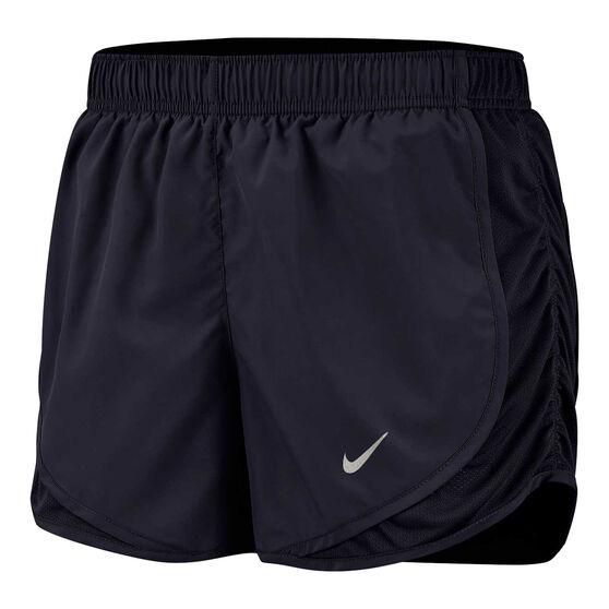 Nike Womens Tempo Running Shorts Black XL, Black, rebel_hi-res