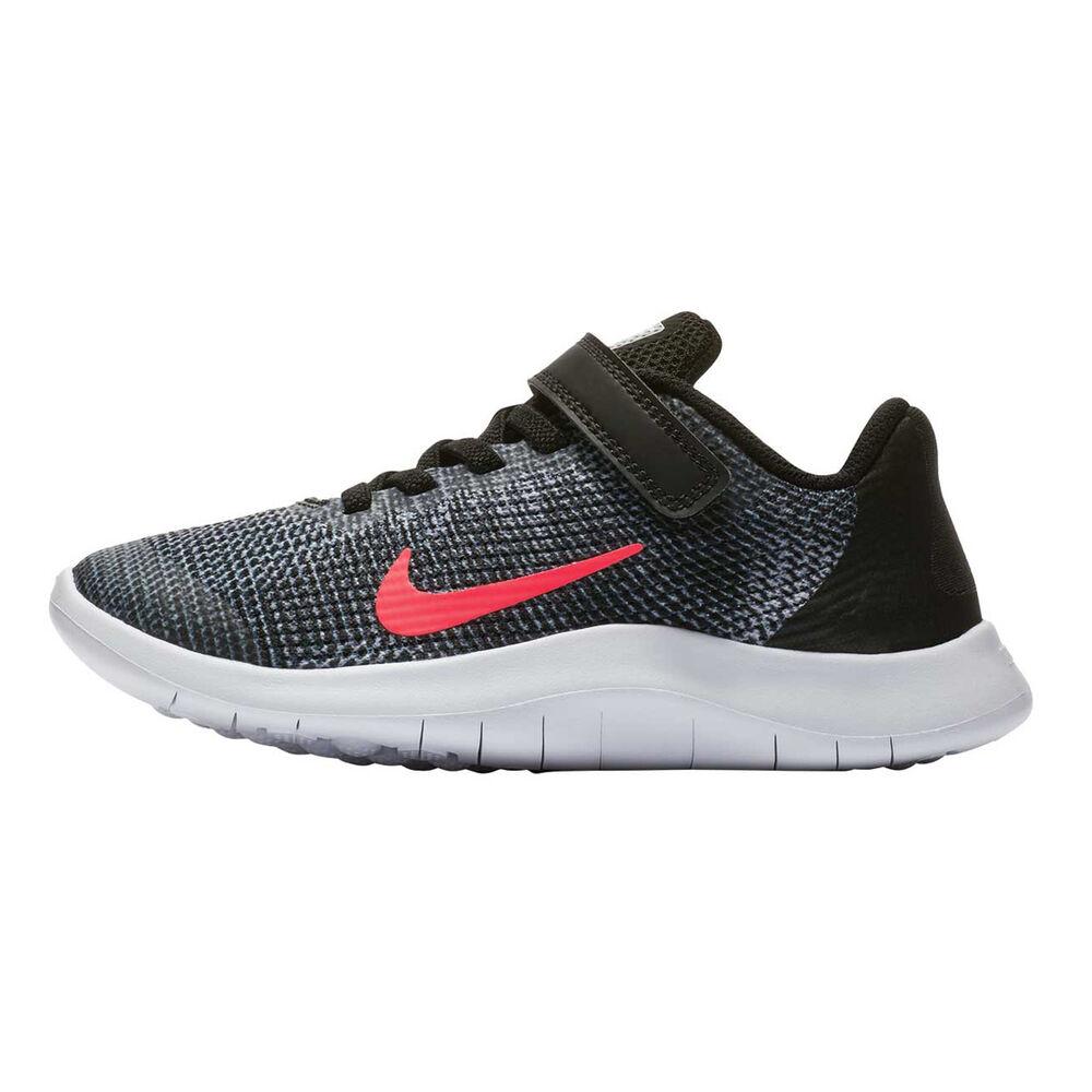0866ff96afb4b Nike Flex RN 2018 Junior Girls Running Shoes Black   Pink US 2 ...