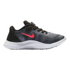 Nike Flex RN 2018 Junior Girls Running Shoes Black / Pink US 11, Black / Pink, rebel_hi-res