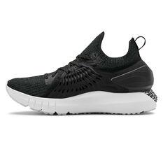 Under Armour HOVR Phantom RN Womens Running Shoes Black / Grey US 6, Black / Grey, rebel_hi-res