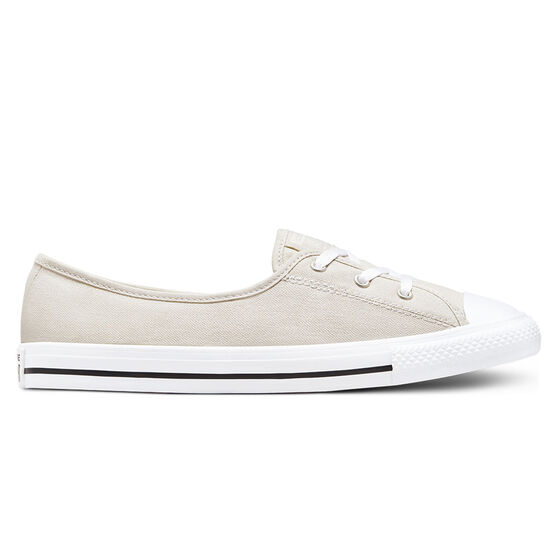 Converse Chuck Taylor All Star Ballet Lace Womens Casual Shoes, Beige, rebel_hi-res