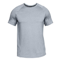 Under Armour Mens MK 1 Tee Grey XS, Grey, rebel_hi-res