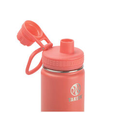 Takeya Actives Insulated Water Bottle 700ml Coral, Coral, rebel_hi-res