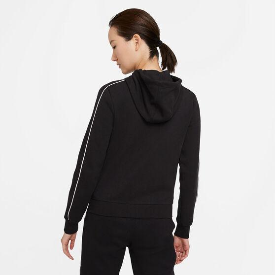 Nike Womens Sportswear Full Zip Hoodie, Black, rebel_hi-res