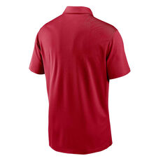 San Francisco 49ers 2020 Mens Logo Essential Polo Red S, Red, rebel_hi-res