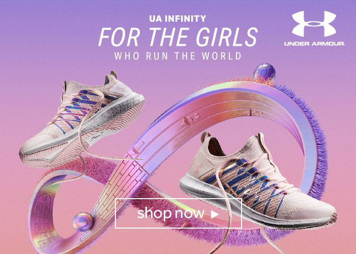 shop Under Armour infinity shoes at rebel