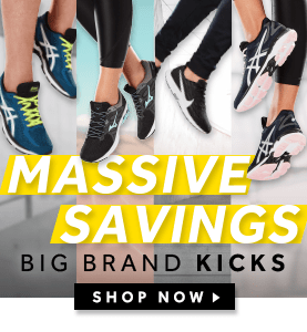 Massive Savings on Big Brand Kicks at rebel