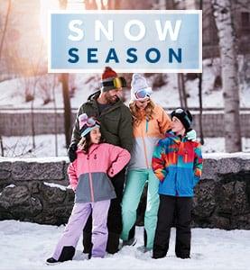 shop ski gear for the snow season at rebel