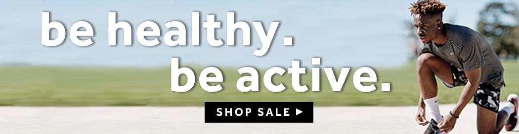 Be Healthy, Be Active at rebel