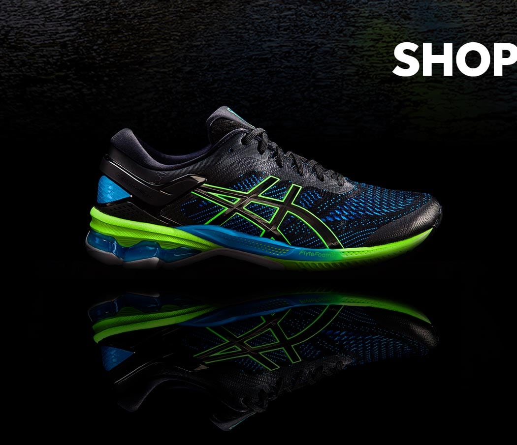 shop the new exclusive Asics GEL-Kayano 26 runners at rebel