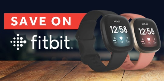 Save on selected Fitbit watches at rebel