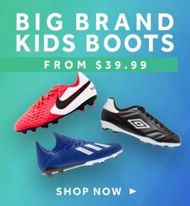 shop kids football boots at rebel