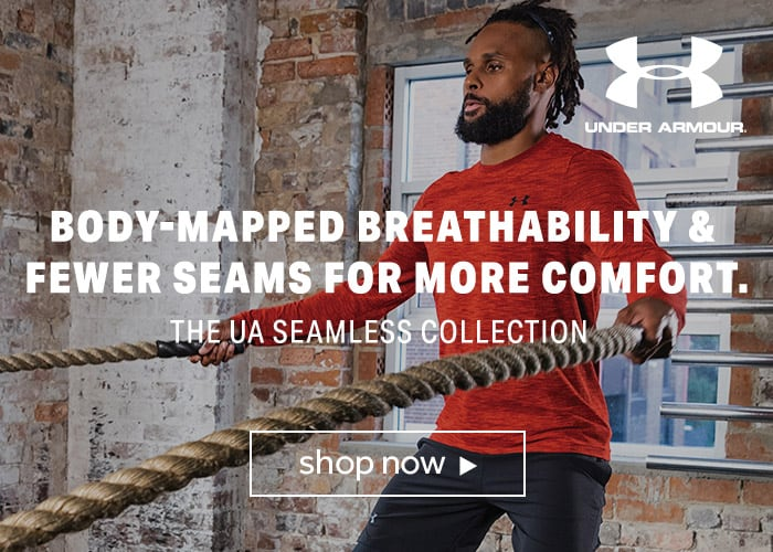 Under Armour mens seamless collection