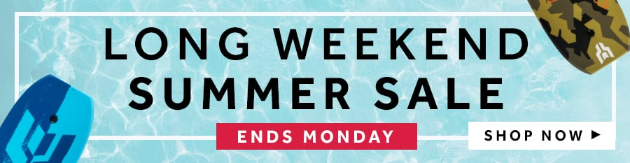 Long Weekend Summer Sale at rebel