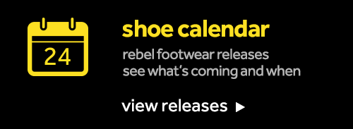 Footwear release calendar
