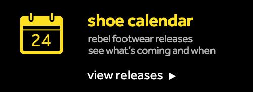 Footwear release calendar