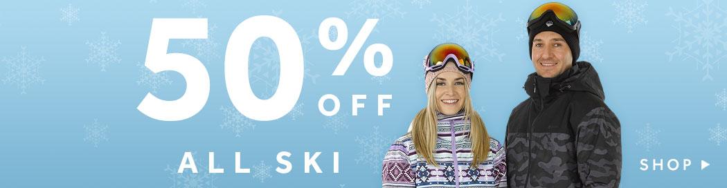 Shop 50% Off All Ski at rebel