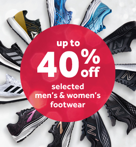 Up To 40% Off Selected Mens & Womens Footwear at rebel